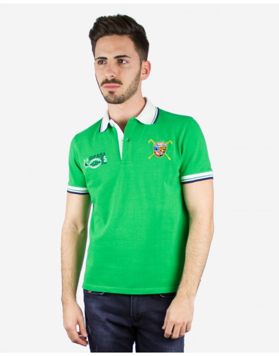 EMBROIDERED POLO WITH EQUESTRIAN INSPIRATION
