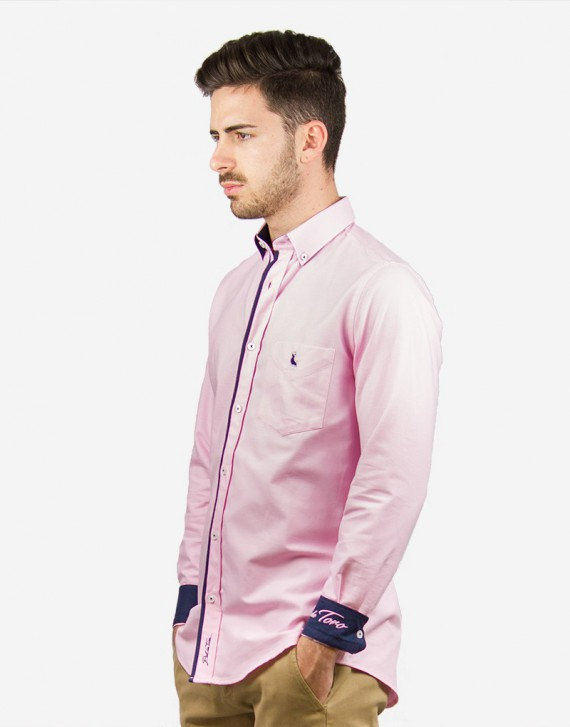 REGULAR FIT OXFORD SHIRT WITH FRONT POCKET