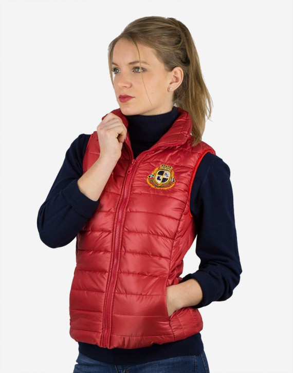 EMBROIDERED QUILTED VEST
