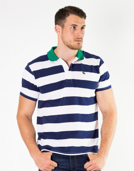 POLO REGULAR FIT FRANJAS HORIZONTALES