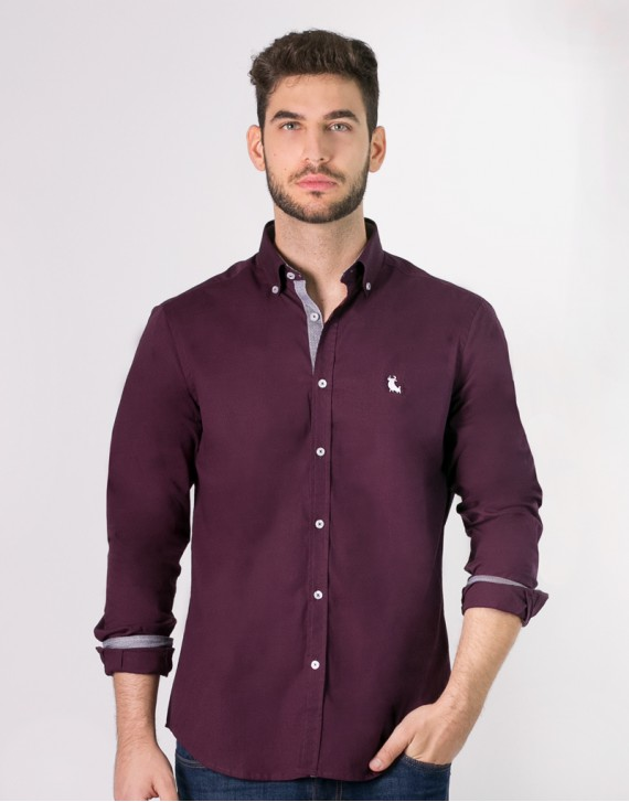 CAMISA REGULAR FIT CONTRASTES