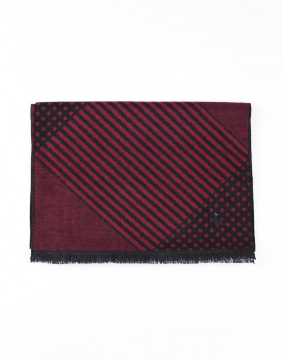 LINES AND DOTS SCARF