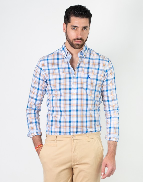 CAMISA REGULAR FIT CUADROS GRANDES