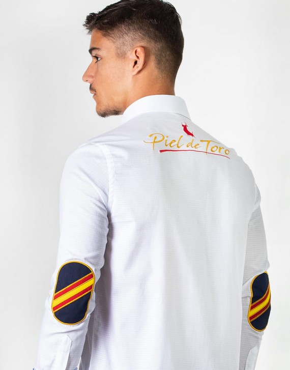 SPAIN EMBROIDERED SHIRT PREMIUM FABRIC