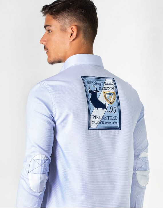 PATCHES AND ELBOW PADS SHIRT