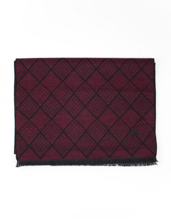 DIAMOND PATTERN SCARF