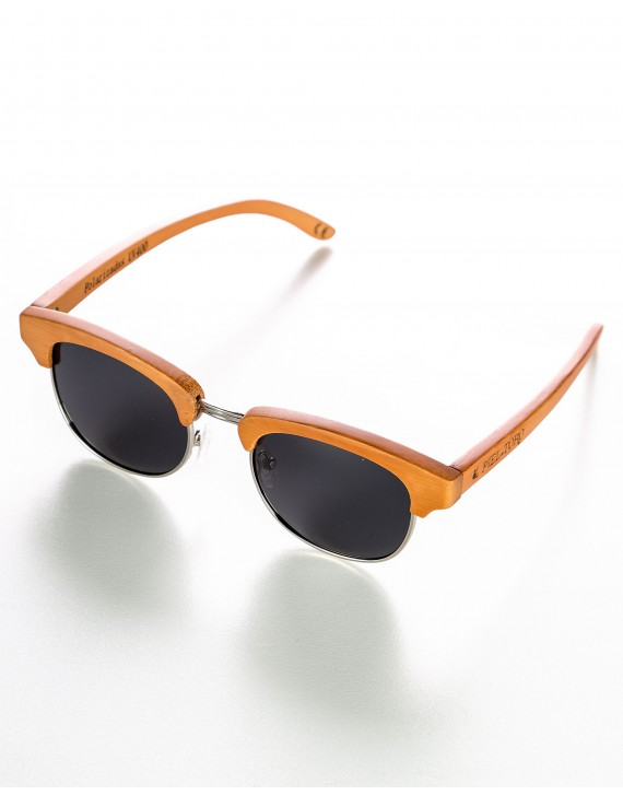 POLARIZED BAMBOO SUNGLASSES RETRO STYLE