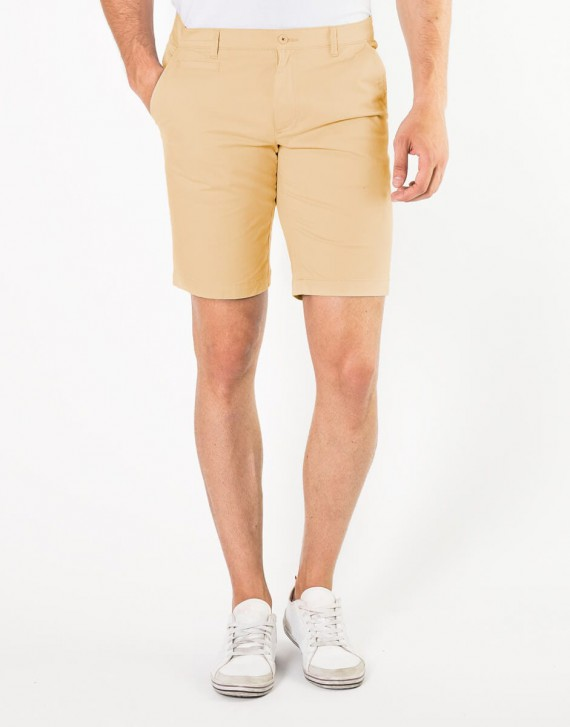 BERMUDA REGULAR FIT ESTILO CHINO