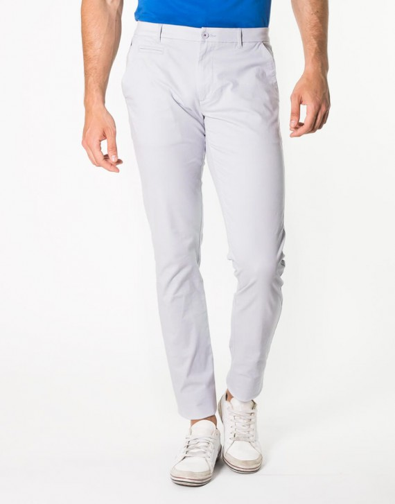 CHINO REGULAR FIT TROUSERS