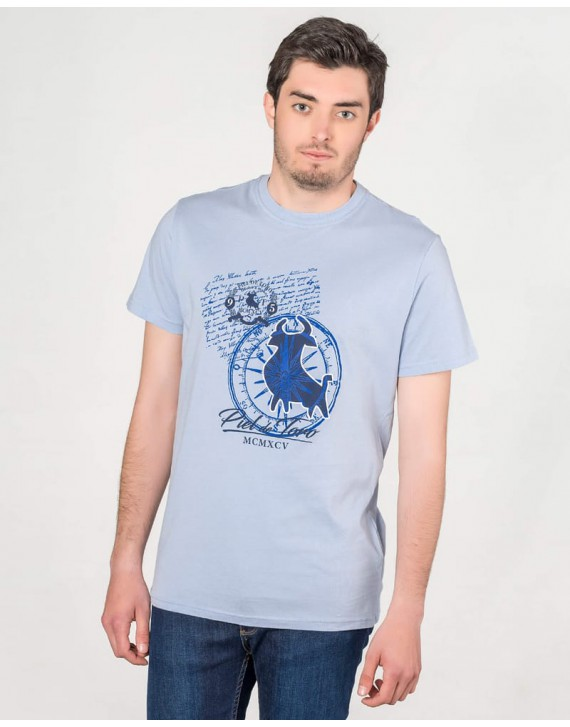 PRINTED T-SHIRT WITH NAUTICAL INSPIRATION