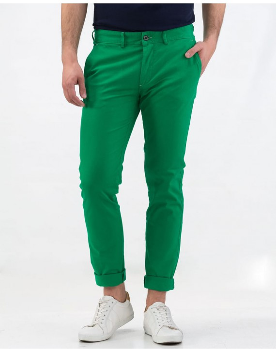 Pantalon chino slim fit sport