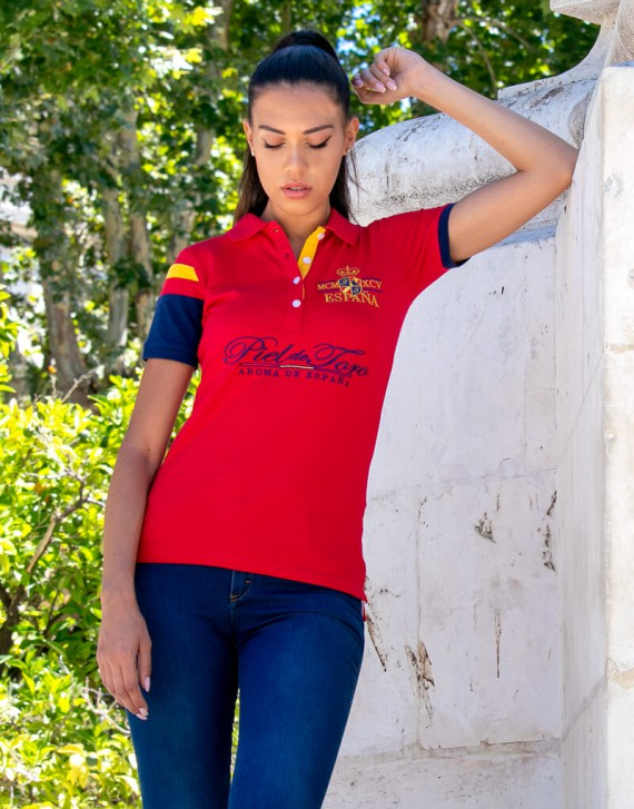 Embroidered Spain Polo
